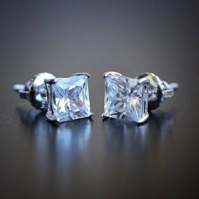 Bling correct with high quality lab diamond studs from TSV Jewelers