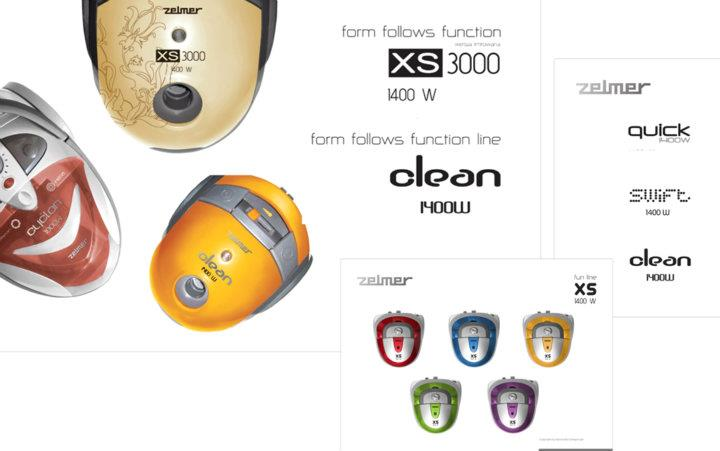 Klient: Zelmer - Ergodesign