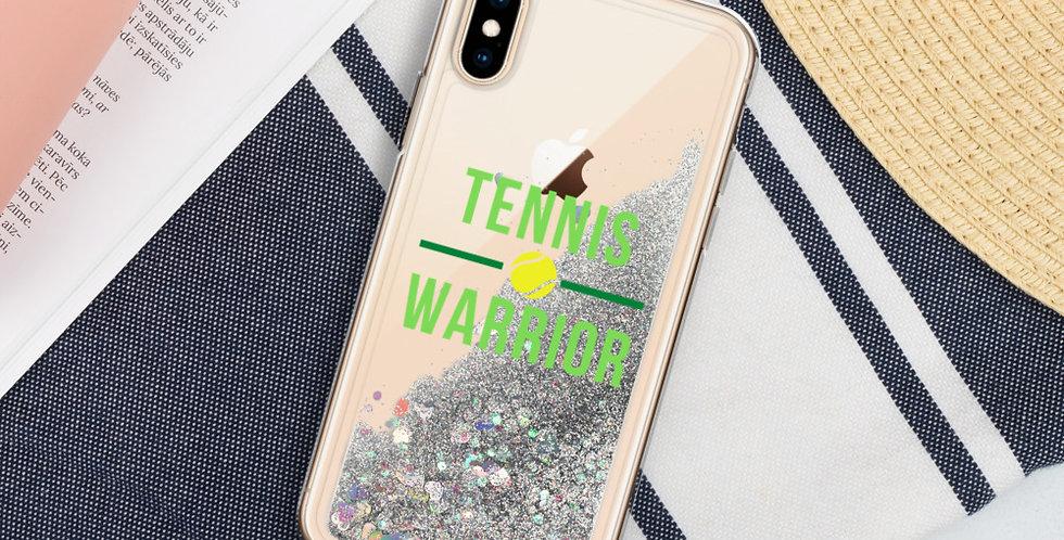 Tennis Liquid Glitter Case