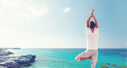 Le Palais Rhoul Dakhla | hotel spa | Yoga pour la photo