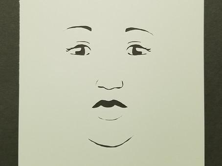 New Stencil - Face 3