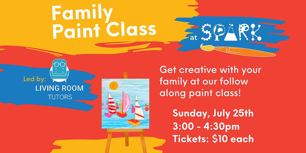Family Paint Class