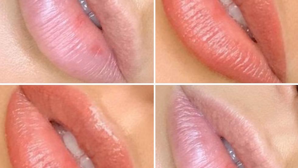 Permanent Lip Blushing