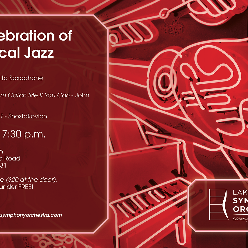 LCSO: A Celebration of Classical Jazz