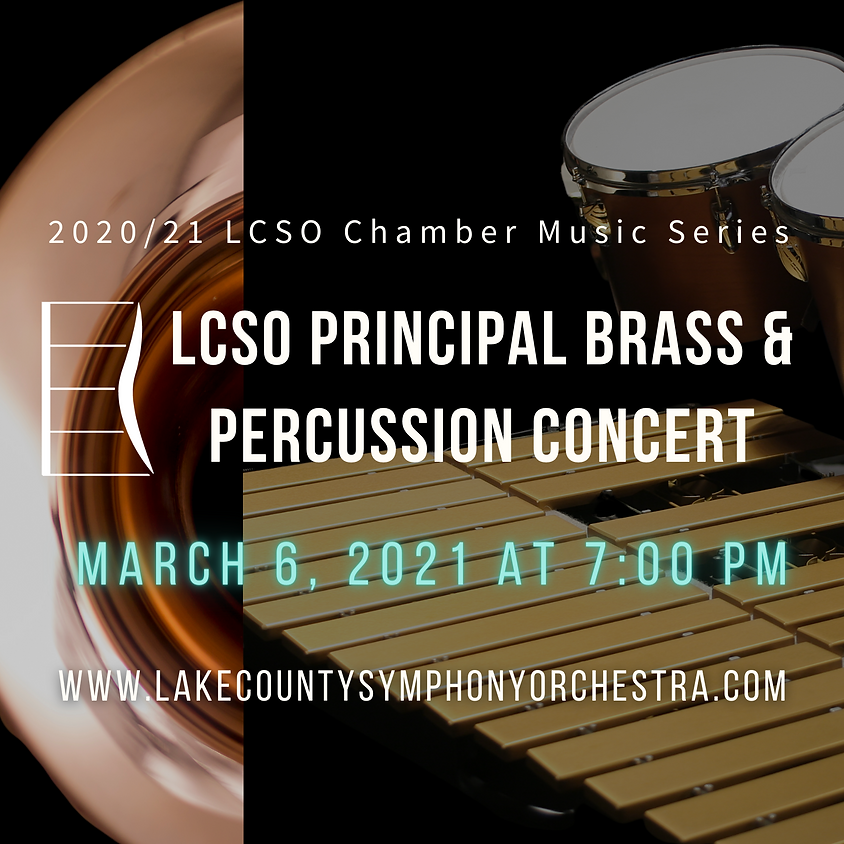Chamber Music Series: Principal Brass and Percussion