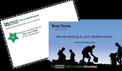 Radius job site mailing