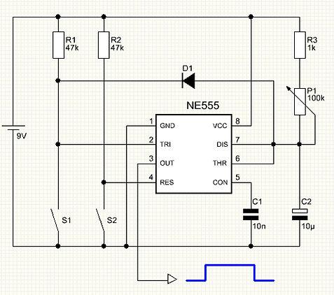 Kondensator Lade- und Entladevorgang