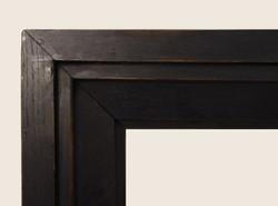 cadre-plat-chène-années30-rainuré