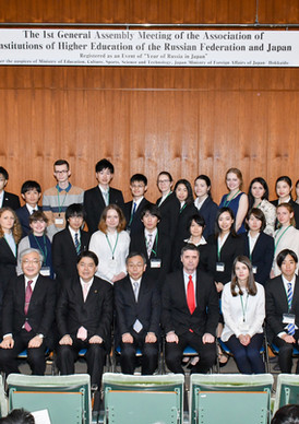 Assembly of the receptors Russia and Jap