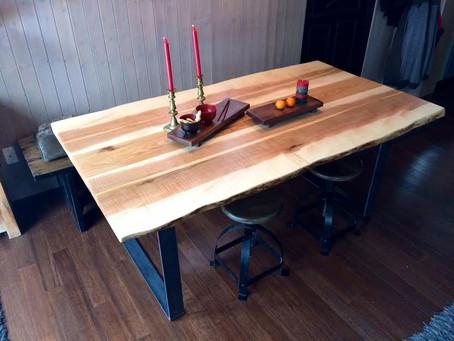 Nouveau ! Table Collection Live edge
