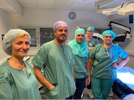 Vi er igang med operasjoner etter sommeren.