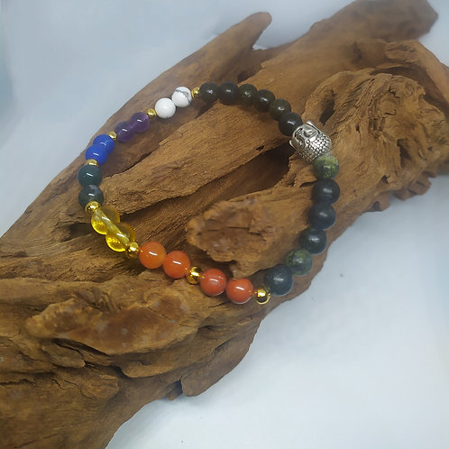 Bracelet 7 Chakras Serpentines.