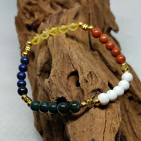 Bracelet inspiration Feng Shui 6 mm