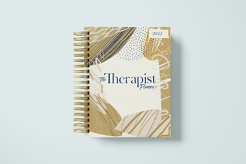 2022 Therapist Planner Cream Collection (Coming Soon)