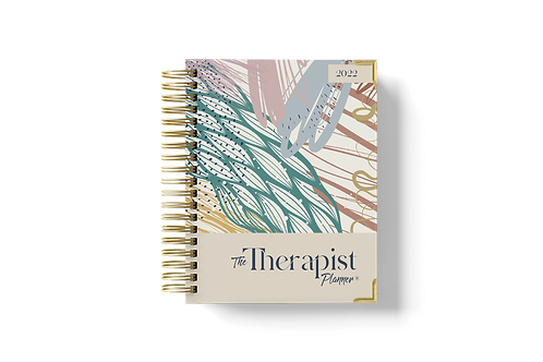 2022 Therapist Planner - Multi-Color (Coming Soon)