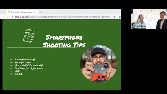 Smartphone Filming Tips with Natasha Akib (Digital Storytellers)