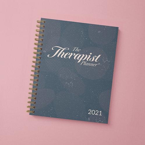 2021 Therapist Planner Navy Luxe
