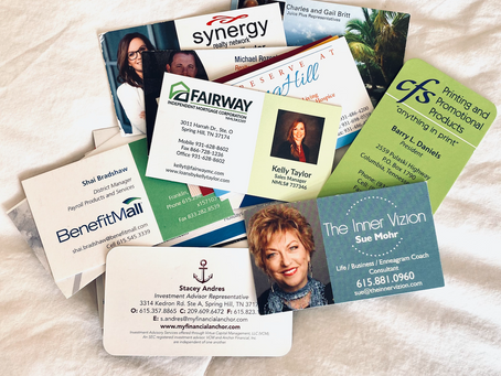 3 Steps to Store & Share Business Cards