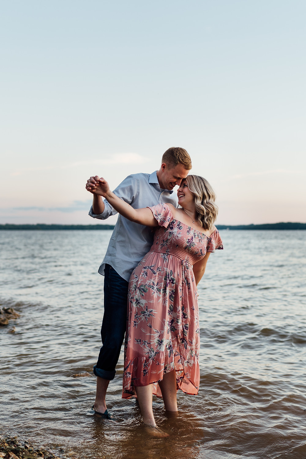 Percy-priest-lake-nashville-couple-session