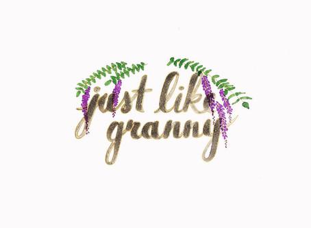 just like granny