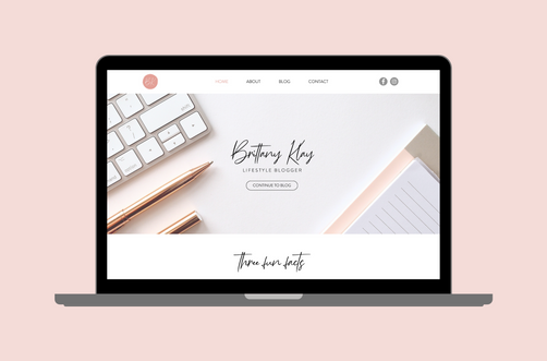 Create and Collab Web Design Project for Brittany Hembrough