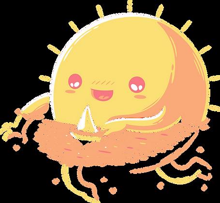 Swimming Sun