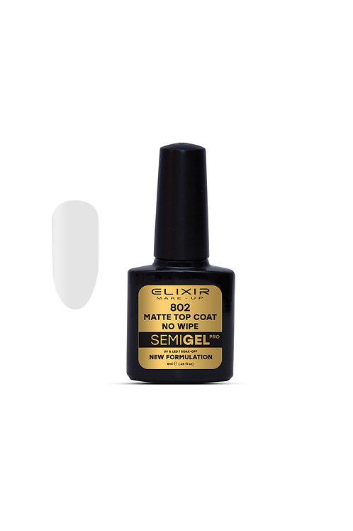 Ημιμόνιμο βερνίκι – #802 (Matte Top Coat – No Wipe)