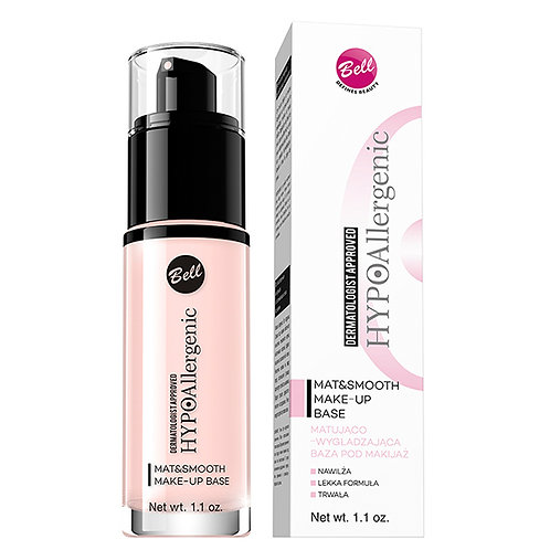 Bell HYPOAllergenic Mat&Smooth Makeup Base 32ml