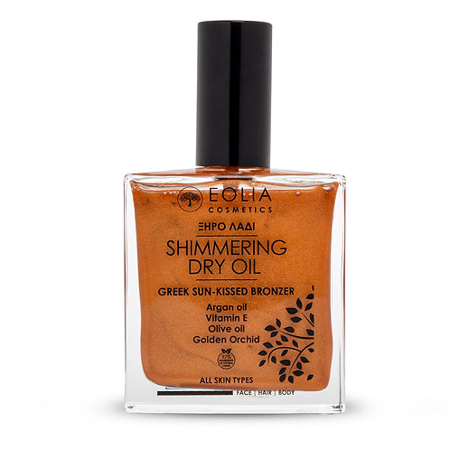 Shimmering Dry Oil Gold Orchid 100ml