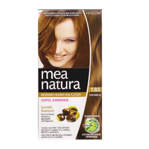 Mea Natura Νο 7.83 Καραμέλα Βαφή Χωρίς Αμμωνία