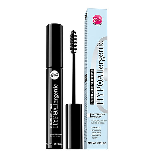 Bell HYPOAllergenic Waterproof Mascara Black 8g