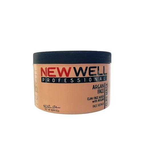 New Well Μάσκα Αργύλου Με Argan 300ml