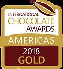 ICA Prize ogo 2018 Gold Americas Vectori