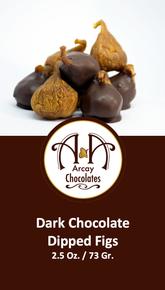 Dark Chocolate Dipped Figs