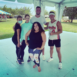 Cardio Dance classes - We had some special guests (Million Dollar Beach House)