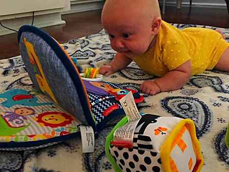 Tummy Time, a crucial activity for your baby's development