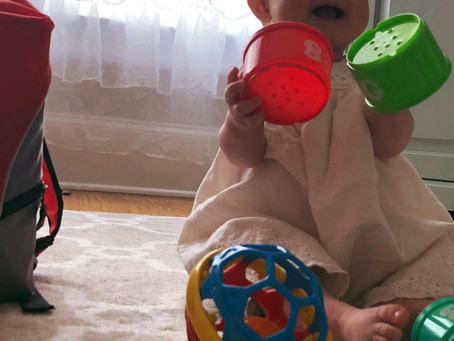Nesting cups, a much needed item in your baby's toy box