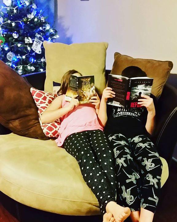 Older children reading