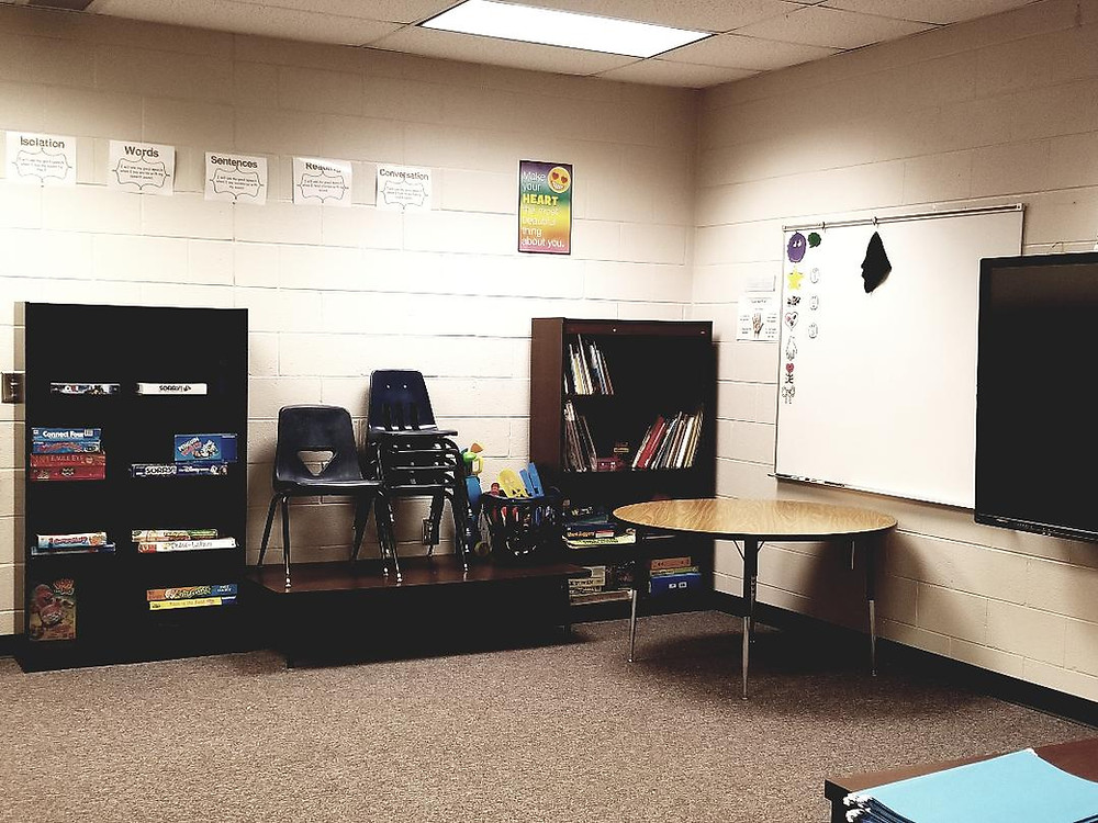speech therapy classroom