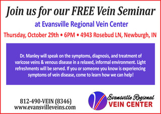 Join Us For Our Free Vein Seminar