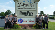New signs for Evansville Regional Vein Center are up