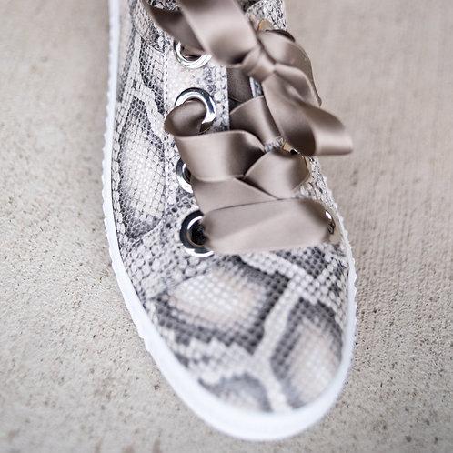 Gadea Snakeskin Sneakers