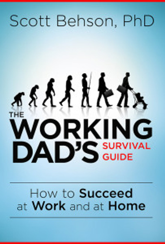 The cover design for the Working Dad's Survival Guide was a study in evolution