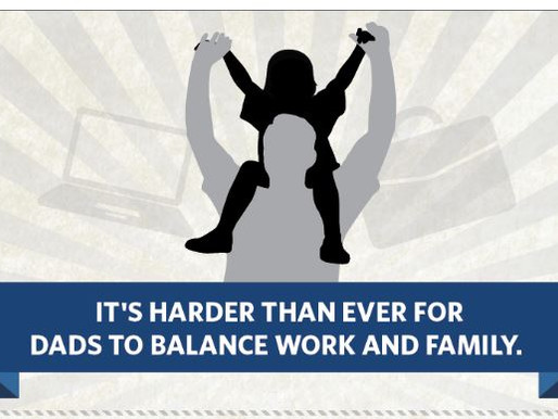 The Challenges Faced By Working Dads, All In One Awesome Infographic!