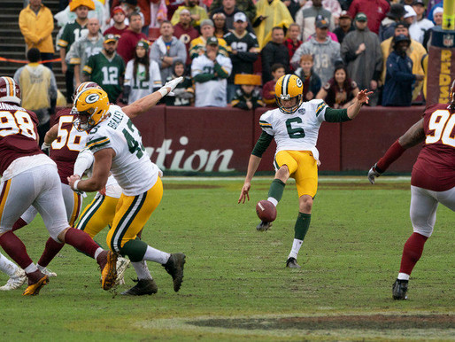 The Green Bay Packers Score a Touchdown for Expectant Dad/Punter JK Scott!