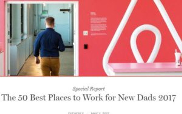 Fatherly compiled a list of the best employers for new dads