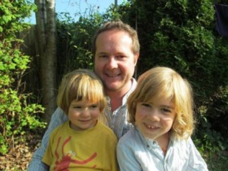 Torsten Klaus and his children