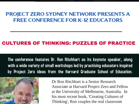 FREE Cultures of Thinking Conference - 25th February 2017