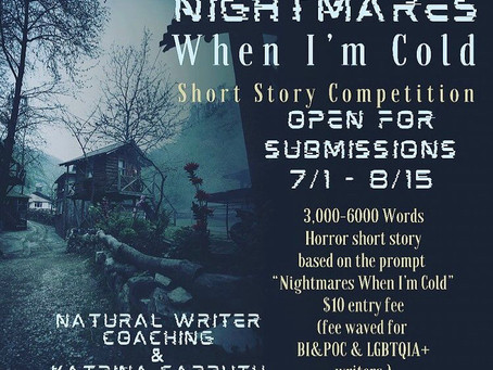 Call For Submissions: Nightmares When I'm Cold