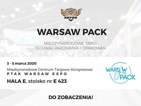 AKPUD na targach Warsaw Pack
